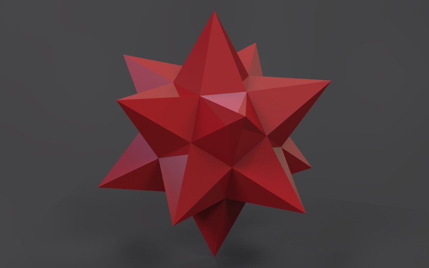 ORIGAMI GREAT STELLATED DODECAHEDRON Folding Instructions PART 1 ... | 547x876