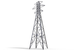 Blaw-Knox Transmission line tower pre 1920