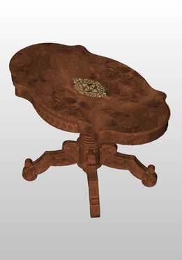 Louis Philip inlaid table