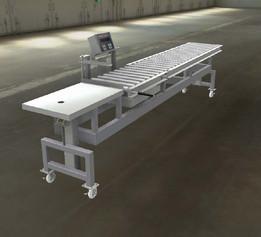 Adjustable gravity conveyor