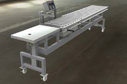 Adjustable gravity conveyor