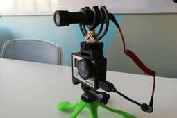 GoPro Hero Frame w Hot Shoe Mount