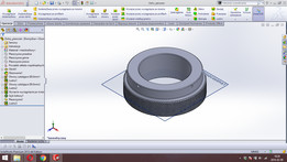Bottom ring for grinding mechanism