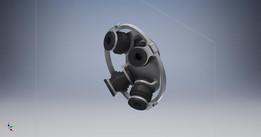 Anti-vibration mount for Tarot680pro frame