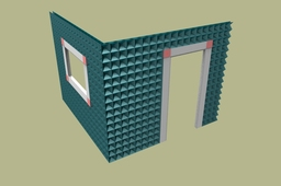 GC OFFICE made with Gusset Plate Construction; patent applied for