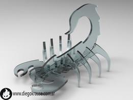 Scorpion model kit / puzzle 3d /