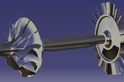 Microturbine Jet Engine