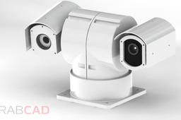 Ip network laser ptz camera gcs-ipl300