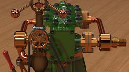 Steam Engine Circa 1830