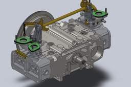 Engine Alfa Romeo Boxer: Montaggio parziale