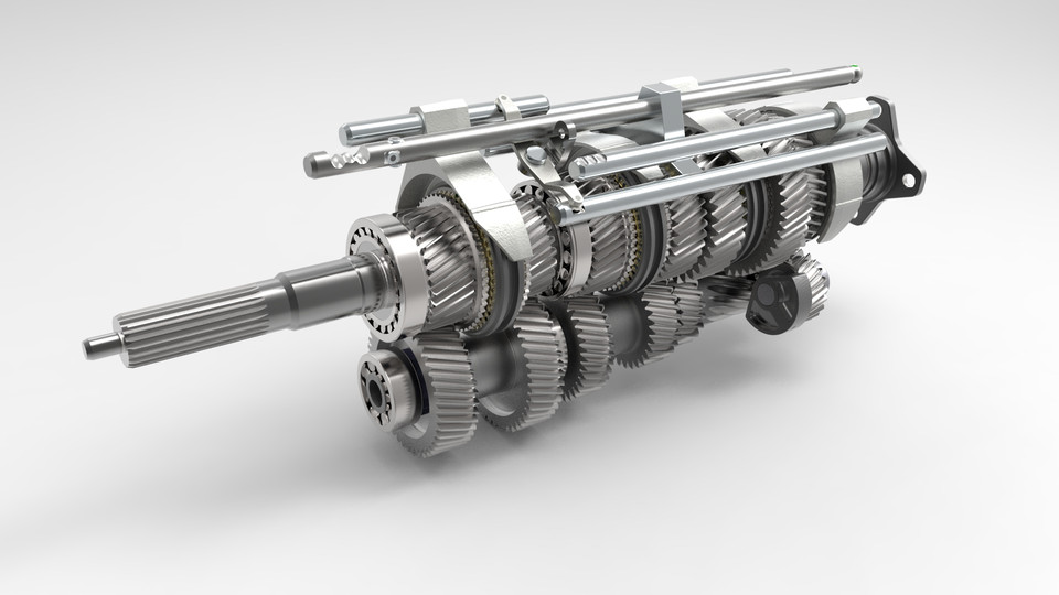 6 Speed Transmission >> V160 6 Speed Manual Transmission Getrag 233 Internal Shifting