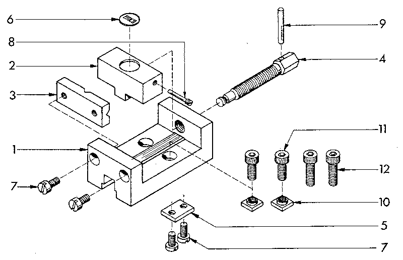 machine vice assembly drawing pdf