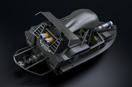 007 QBoat 3D Model