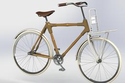 Bicycle front carrier