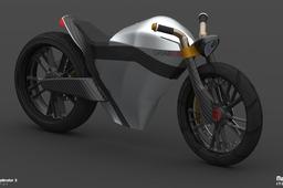 2040 Electrafé Motorcycle