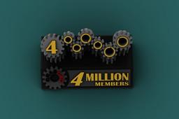 Trophy Gears 4M - I