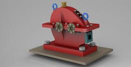 Spur gear drive