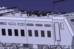 Indian Railways electric engine