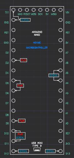 Arduino Nano Component | 3D CAD Model Library | GrabCAD