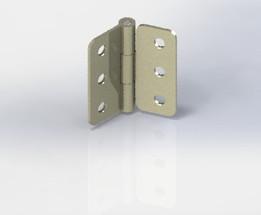SOLIDWORKS, hinge - Most downloaded models   3D CAD Model