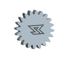 Involute Spur Gear Template