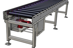 Chain Driven Roller Conveyor