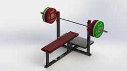 Bench for benchpress