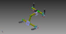 ARTICULATED ROBOT ARM END EFFECTOR