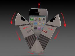 iPhone folding case