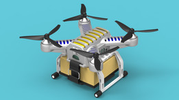 "Generate Quadcopter ""Cargo"""