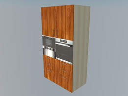 Armoire pour fours, Cabinet for furnaces (ovens)