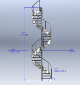 Fully Customizable Stair