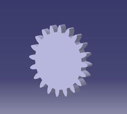 spur gear(involute profile)