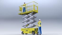 """Scissor lift """"GeniusGZ-2345"""""""