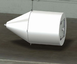 Conical tank 3000 litres 1600mm diameter