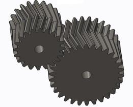 herringbone gear drive