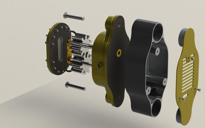 Gear Pump Assembly 3'' Gear Pump