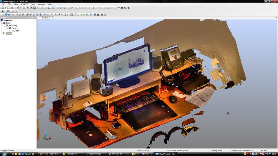 3d Scan of Desk | 3D CAD Model Library | GrabCAD