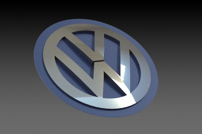 volkswagen logo das auto solidworks 3d cad model grabcad. Black Bedroom Furniture Sets. Home Design Ideas