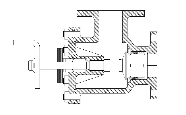 diagram of feed check valve