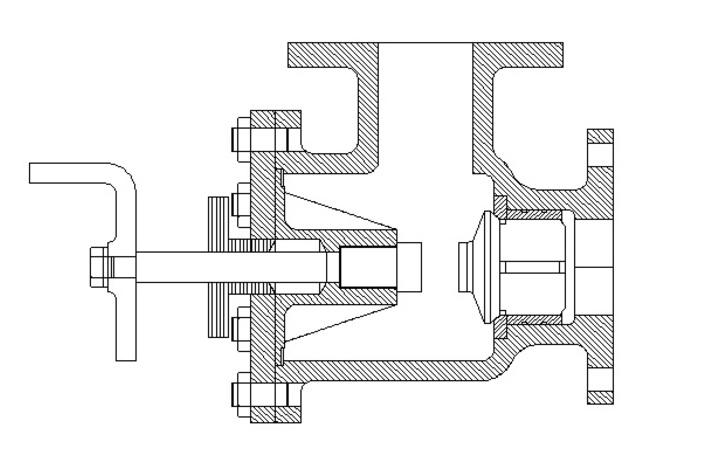 diagram of swing check valve feed check valve 2d assembly diagram of feed check valve #2