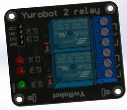 2-Channel Relay interface board