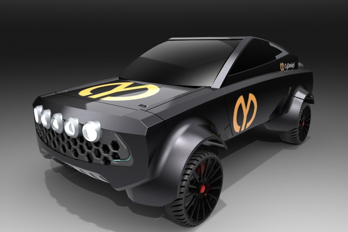 Cy 7 B Spec Rally Car Solidworks 3d Cad Model Grabcad