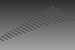 DIN 94 Split Pins (Cotter Pins). Nom. Diameter 3,2mm