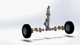 Airplane Landing gear assembly