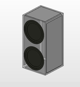 Home Stereo System: Large Speaker