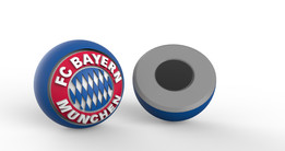 BAYERN-collectable magnetic soccer team