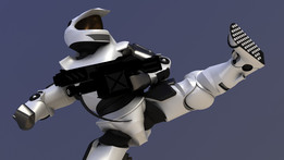 Space Soldier - Completely Poseable