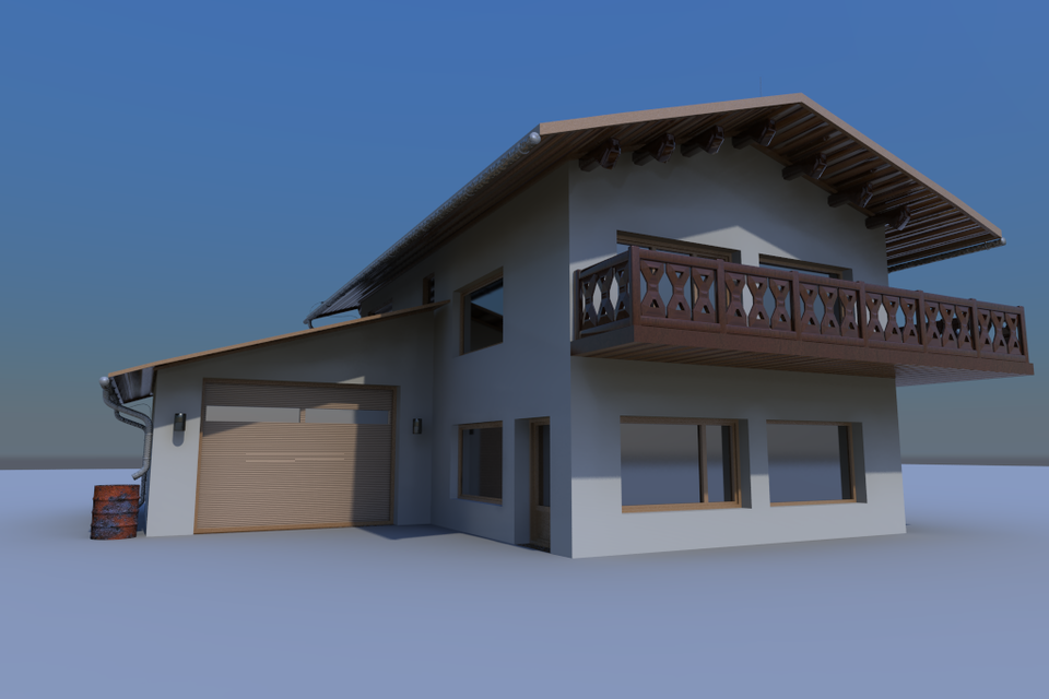 My house 3d cad model library grabcad for My home 3d