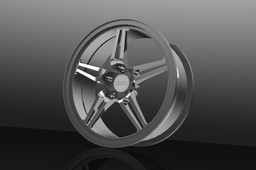 alloy wheel rim (AUDI)
